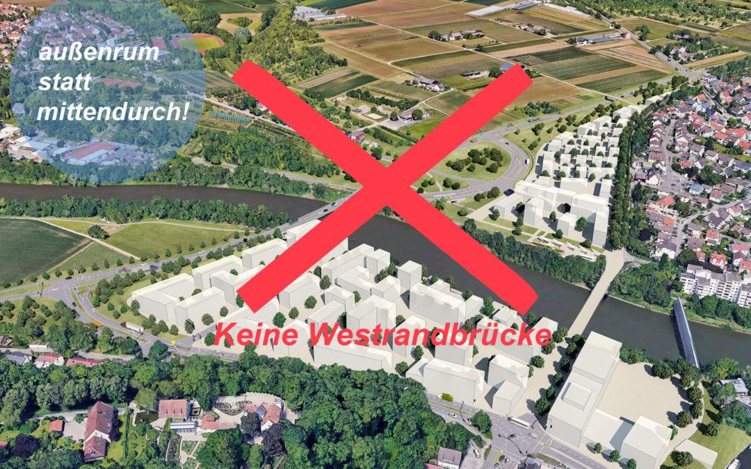 Brücken-Verkaufsveranstaltung der Stadt Remseck