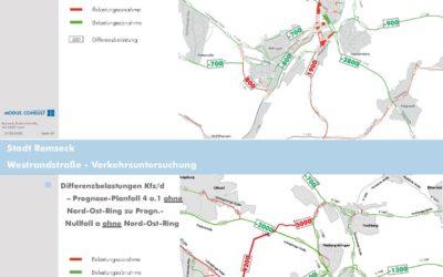 Finde den Unterschied heraus: welche Alternative entlastet Remseck vom Verkehr?